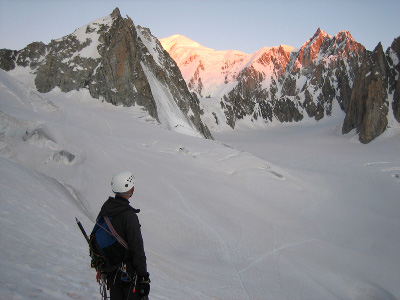 North Face of Tour Ronde, Chamonix, France