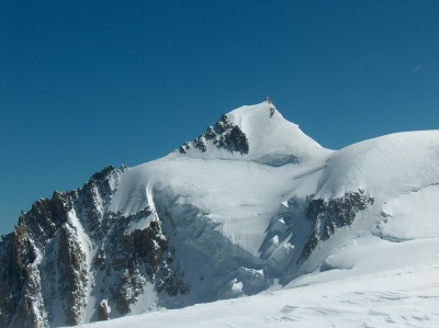 South-east face of Mont Maudit, Chamonix, France