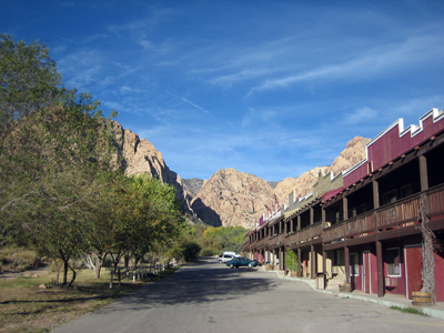 Bonnie Springs Motel, Red Rock Canyon